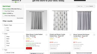 Target Shower Curtains