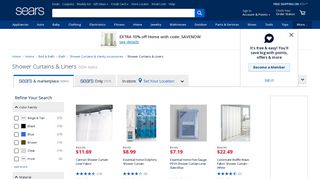 Sears Shower Curtains