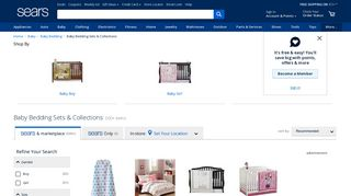 Sears Baby Bedding
