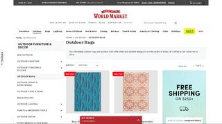 World Market Patio Rugs