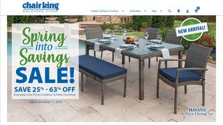 Chair King Bistro Sets