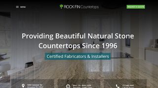 Rock Fin Countertops