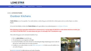 Lone Star Kitchens