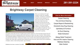 Brightway Carpet Cleaning