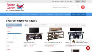 Furniture Queen Entertainment Units
