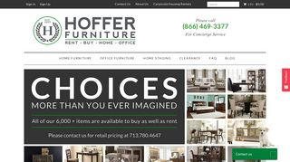 Hoffer Furniture Rental