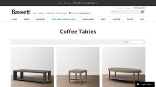 Bassett Coffee Tables