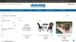 Chair King Outdoor Cushions