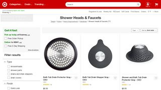 Target Showers