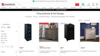 Overstock Filing Cabinets