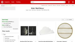 Target Kids Wall Decor