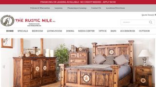 Rustic Furniture Houston