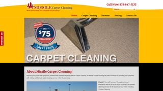 Missile Carpet Cleaning