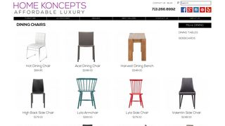 Home Koncepts Dining Chairs