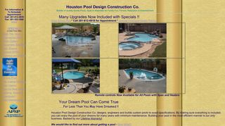 Houston Pool Design