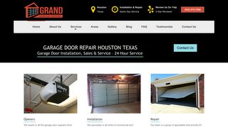Garage Door Repair Houston
