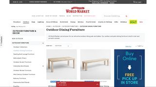 World Market Dining Sets