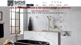 Baths of America Cabinets