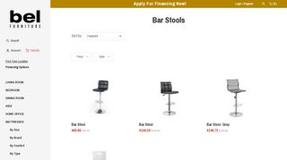 Bel Bar Stools