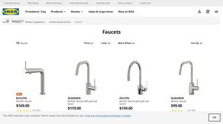 IKEA Kitchen Faucets